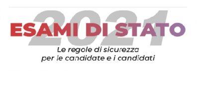 Regole di sicurezza per le candidate e i candidati all'Esame di Stato